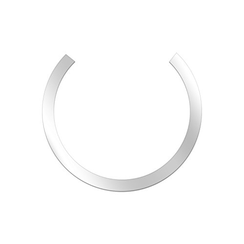 Metal Ring for Magnetic Qi Wireless Charger 60.8MM/2.39inch Round Ring for TankShip Magnetic Wireless Car Charger Car Mount Phone Holder Qi Standard Mobile Cell Phone (5 pcs) (Apple Special)
