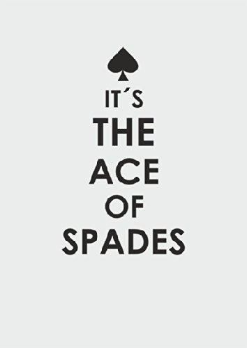 "Disagu Design Case Coque pour Apple iPhone 6s Plus Housse etui coque pochette ""IT´S THE ACE OF SPADES"""