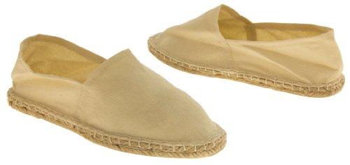Schoenen Canvas Dames Espadrille Zomerschoenen Natural