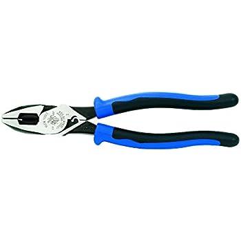 Klein Tools J20009NECRTP High Leverage Side Cutting Pliers
