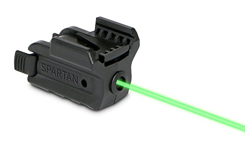 (LaserMax Spartan Adjustable Rail Mounted Laser (Green))
