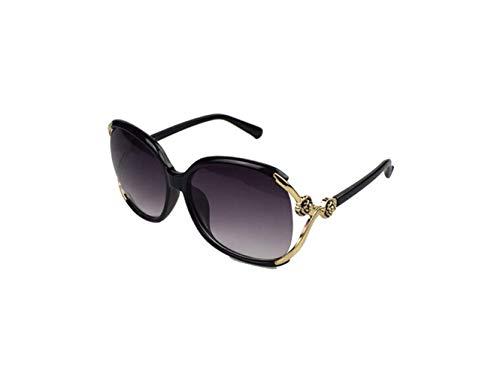 Elegante Personalidad Sol Negro Cuadrada garde Gafas Cómoda Cara De Larga Redonda Avant Liwenjun wt1qIZHpZ