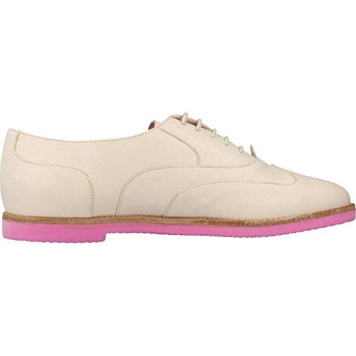 Blanco Pretty Zapatos Modelo Mujer Blanco Color Para Ballerinas Ballerinas Marca 42195 Mujer wFtH64q