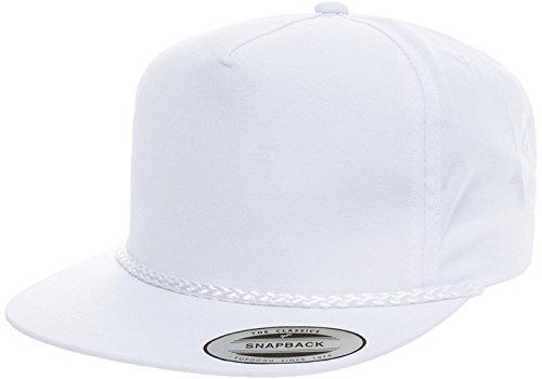 Acorn Fit Exclusive Yupoong 6002 Poplin Golf Snapback Hat Baseball Cap - Exclusive Caps Snapback
