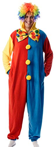 (#followme Adult Onesie Pajamas Clown 6765-XL)