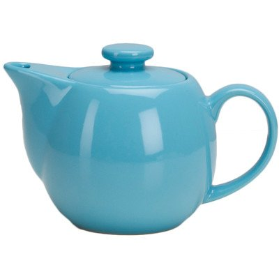 (Teaz 0.34-qt. Teapot with Infuser Color: Turquoise)