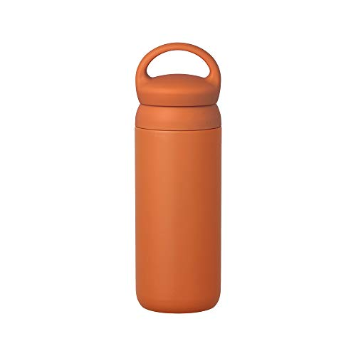 Day Off Tumbler 500ml (17oz) φ74xH226mm Orenge - Vacuum Insulated, Which Keeps Your Favorite Beverage Hot Or Cold For Hours Perfect For Carrying Around On Walks Or Day Trips