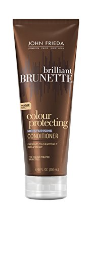 John Frieda Brilliant Brunette Shine Release Moisturizing Conditioner for All Shades, 8.45 oz