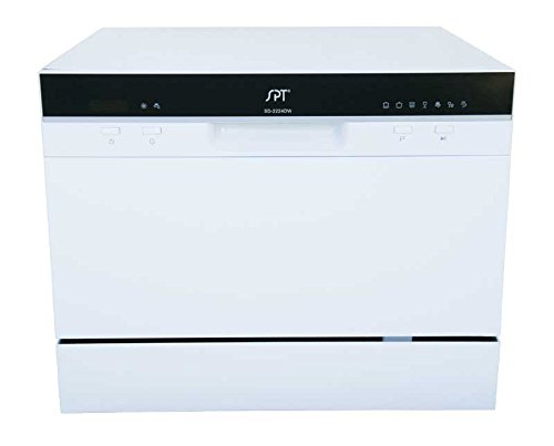 SPT SD 2224DW Countertop Dishwasher Delay