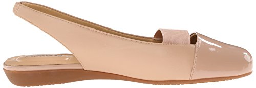 Trotters Womens Sarina Ballet Flat Nude