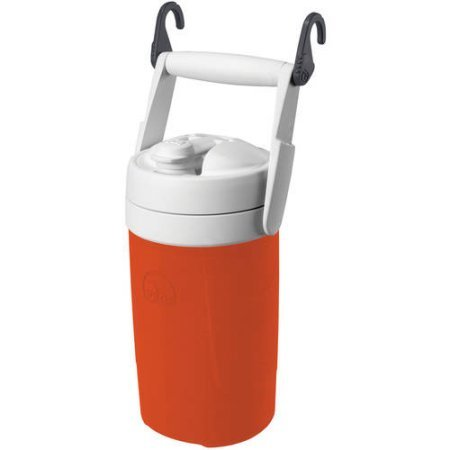 Igloo Sport 1/2 Gal Jug with Hooks - Orange + Cooling Towel