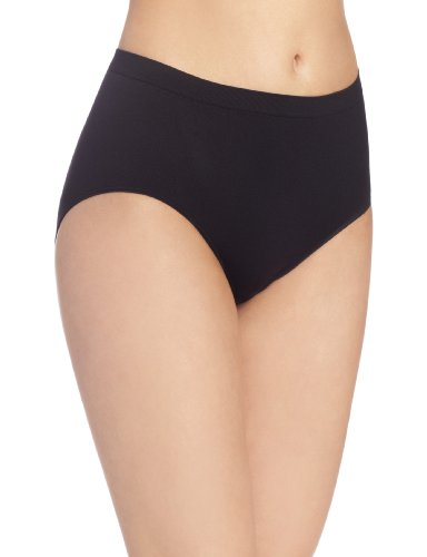 Revolution Seamless Brief Panty, Black, 10/11 (Revolution Skirt)