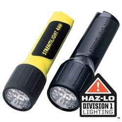 Streamlight Propolymer 4Aa Led Flashlight - Blue Leds And Alkaline Batteries - Blister Packaged - Yellow (Black Propolymer Flashlight)
