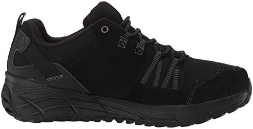 Skechers Men's Equalizer 4.0 Trail Oxford, Black/Black, 14 4E US