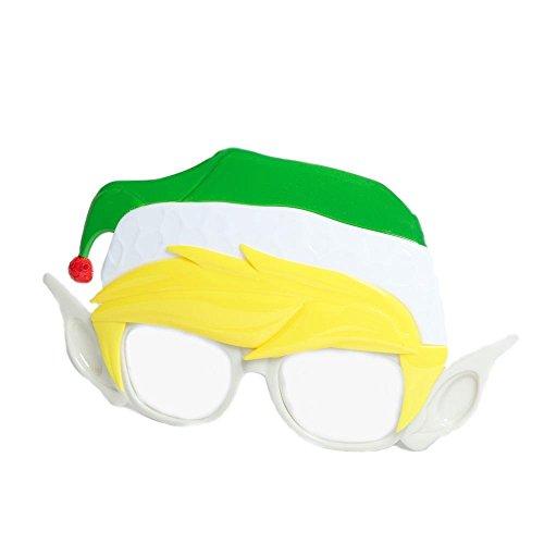 Costume Sunglasses Elf Sun-Staches Party Favors UV400