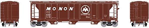 N PS-2 2893 3-Bay Covered Hopper, Monon #4404