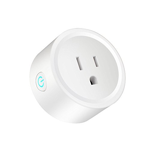 Smart Plug Works with 2.4G Wifi With Alexa, Google Home,No Hub required with Timer Function, Remote Control Your Home Appliances from Anywhere,FCC CE,ETL Certified(only support 2.4G network)
