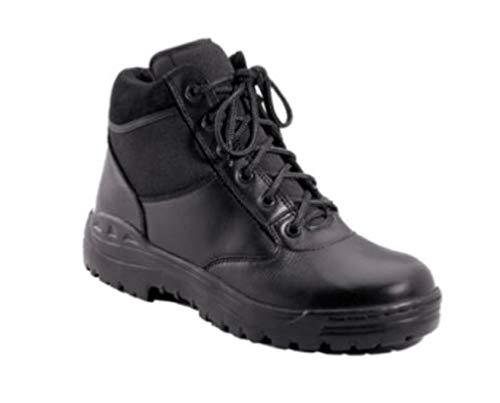 hersrfv clothing EMT EMS Paramedic First Responder Swat Black 6'' Leather Tactical Boots