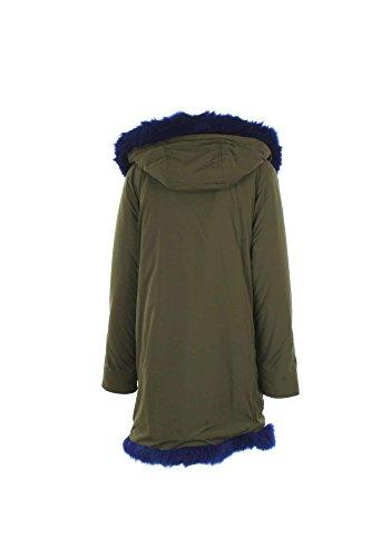 Parka Donna Kengstar M Verde/blu Kswpln01v Autunno Inverno 2016/17