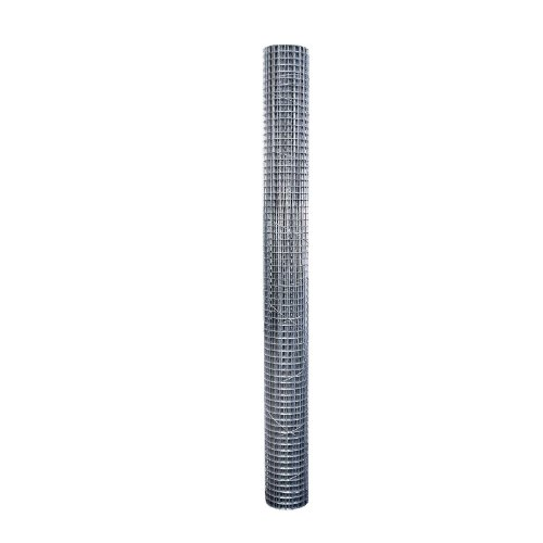 Origin Point 113610 19-Gauge Galvanized Hardware Cloth Fence, 10-Foot x 36-Inch With 1/2-Inch Openings