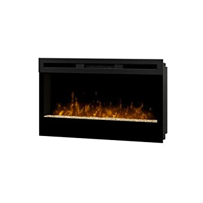 Dimplex BLF34 Wickson Wall-Mounted Indoor Fireplace, Black