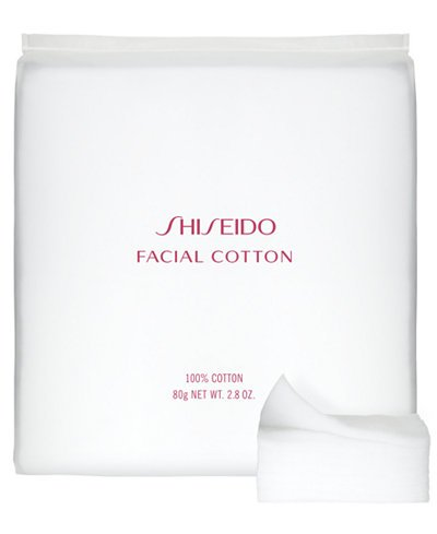 Shiseido The Makeup Facial Cotton (Quantity of 4) by Shiseido The Makeup Facial Cotton (Quantity of 4)