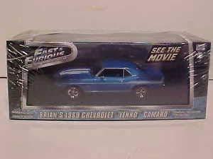 Camaro Yenko (Fast & Furious Brian's 1969 Chevy Yenko Camaro Diecast Car 1:43 5inch)