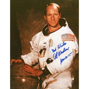 - Al Worden Autographed 8x10 Apollo 15 Comand Module Pilot Photo - Autographed MLB Photos