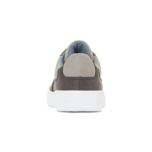 La Redoute Collections Big Boys Dual-Material Trainers, 26-40 Grey