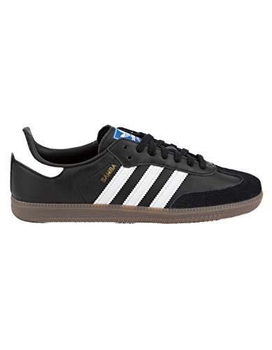 adidas Performance Men's Samba Classic Indoor Soccer Shoe (8 M, Core Black/Footwear White-Gum)
