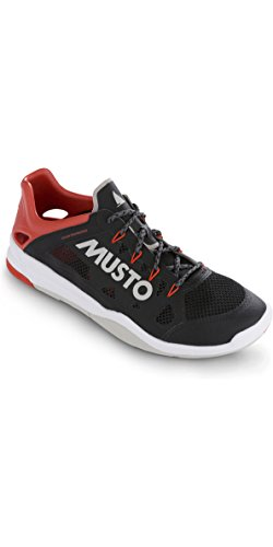 Musto Dynamic Pro Ii Sailing Yachting and Dinghy Shoes Black - Unisex - Your Footwear Needs to Keep pace (Best Shoes For Dinghy Sailing)