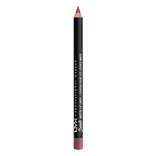 NYX PROFESSIONAL MAKEUP Suede Matte Lip Liner, Beijing, 0.035 Ounce