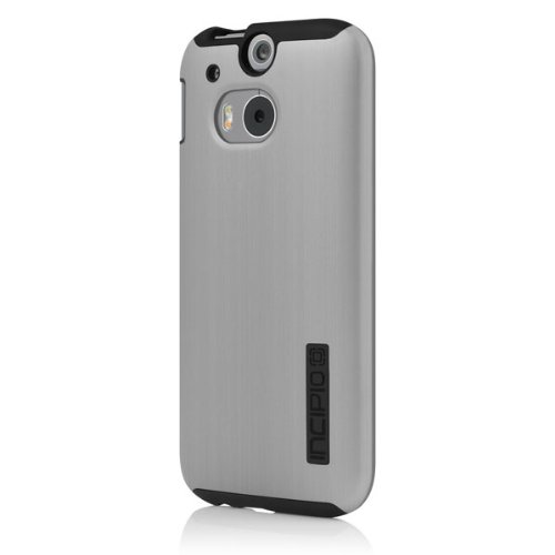 premium selection fe795 a3ea5 Incipio DualPro SHINE Case for HTC One (M8) - Carrying Case - Retail  Packaging - Silver/Black