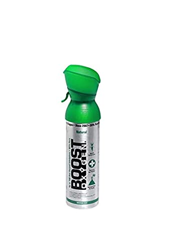 95% Pure Pocket Sized Oxygen Supplement, Portable Canister of Clean Oxygen,  Increases Endurance,