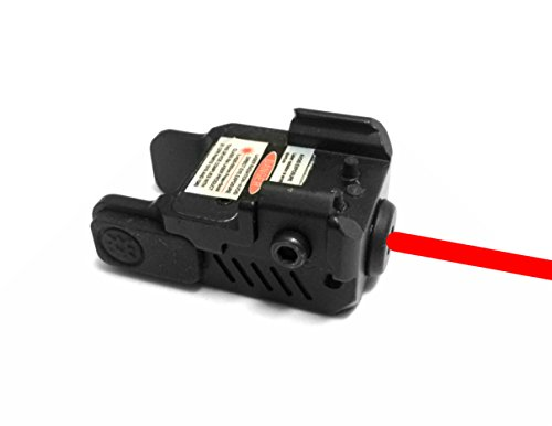 Ade Advanced Optics HG54R Strobe Laser Sight for Pistol Handgun, Red by Ade Advanced Optics