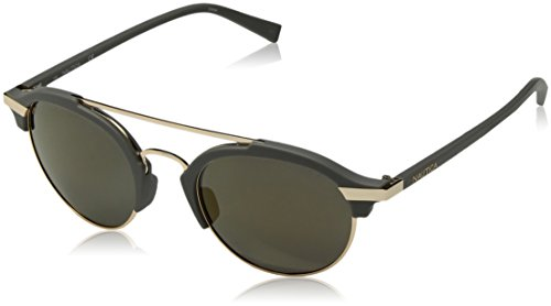 Nautica Men's N4629sp Polarized Round Sunglasses, Matte Grey, 50 - Nautica Sunglasses
