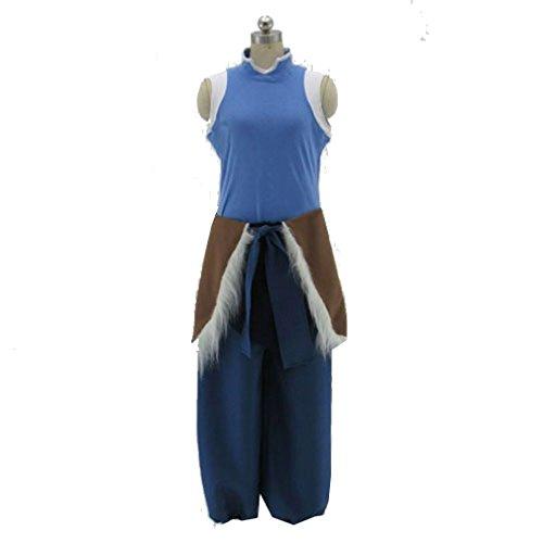 Avatar Korra Costume (Cuterole Women Amime Korra Cosplay Costume From Avatar Full Outfit Custom)