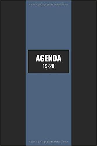 Agenda 19-20: Juillet 2019 A Décembre 2020 / 1 Semaine Sur 2 ...
