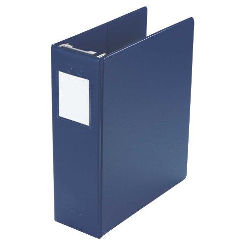 """Wilson Jones Hanging Binder, Vinyl, 2"""" Ring Size, Large 650 Sheet Capacity, Blue (W365-44BL)"""