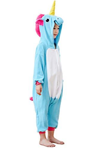 Unicorn Pajamas Kids Animal Piece Homewear