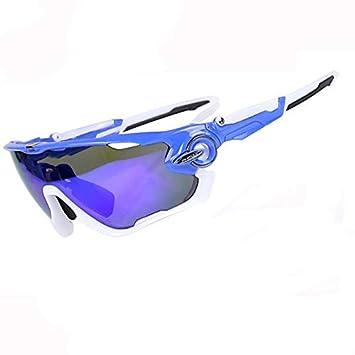 DAYANGE Gafas de Sol polarizadas para Ciclismo de montaña, 5 Lentes, UV400, Gafas