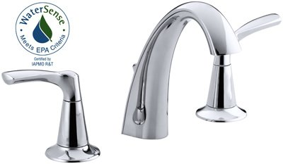 2h Lavatory Chrome Faucet (Mistos Ws 2h Faucet Chrm)