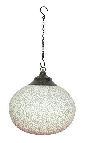 Lalhaveli Handmade Glass Crafted Ceiling Light Hanging Pendant Lamp - Mosaic Outdoor Tiffany Furniture