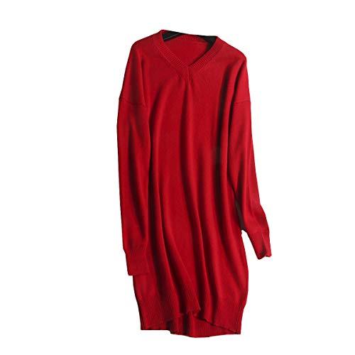 Lunga Maglione Rot Manica Dissa Donna nF7pqdxwz