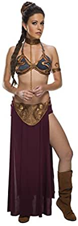 Jabba's Prisoner Princess Leia Costume, XX-Small