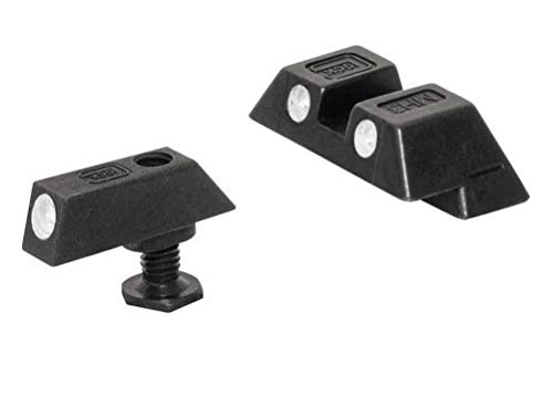 Glock Factory OEM Night Sights 17, 19, 22, 23, 24, 26, 27, 33, 34, 35 - Glock Green Front Sight