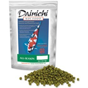 Dainichi All Season Koi Fish Food  11 lbs Medium Pellet