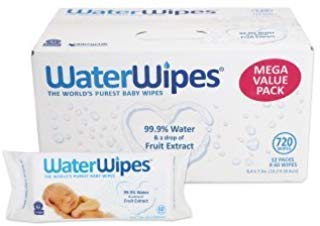 WaterWipes Sensitive Baby Wipes, 12 Packs of 60 Count (720 Count) RQ#FA