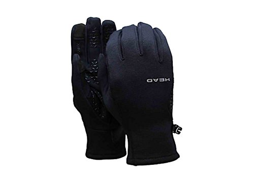 Large Butterfly Graphic (Head Unisex Ultrafit SENSATEC Technology Touchscreen Glove - Black (Large))