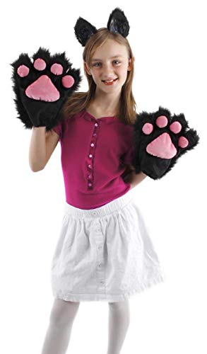 elope Black Kitty Paws -
